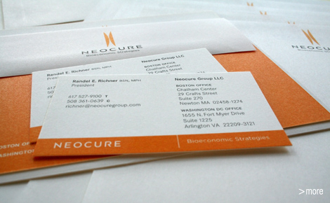 Neocure Group LLC Stationery