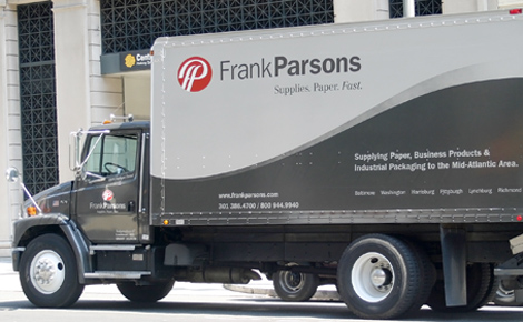 Frank Parsons Paper Truck